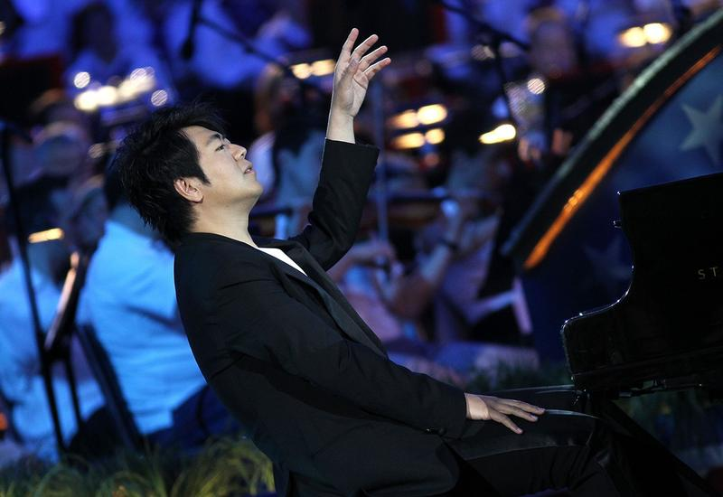 Lang Lang performs at the Independence Day Concert on July 3, 2015 in Washington, DC