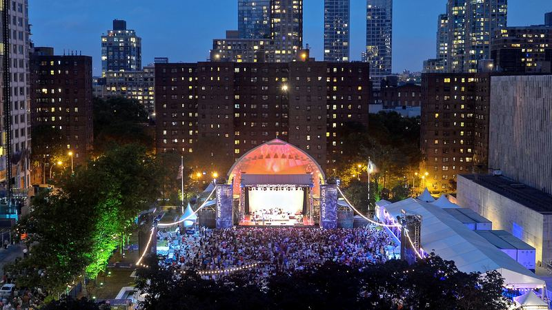 The Five Best Outdoor Concert Venues In New York City This Summer