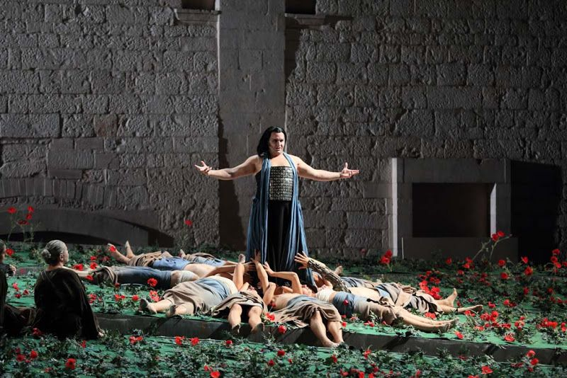 Simon Mayr's 'Medea in Corinto' From Valle d'Itria Festival in Italy.