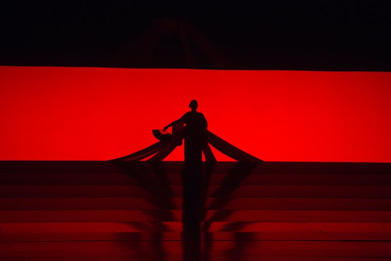 "A scene from Puccini's ""Madama Butterfly."""