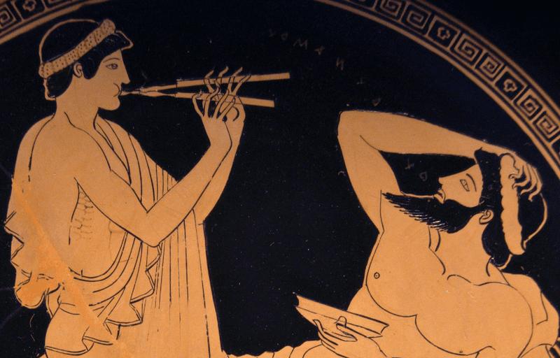 From Euripides' Iphigeneia in Aulis: Leiden, Papyrus P. 510