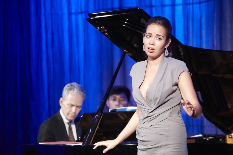 Soprano Nadine Sierra, the 2017 winner of the Richard Tucker Award, performing live in The Greene Space at WQXR.
