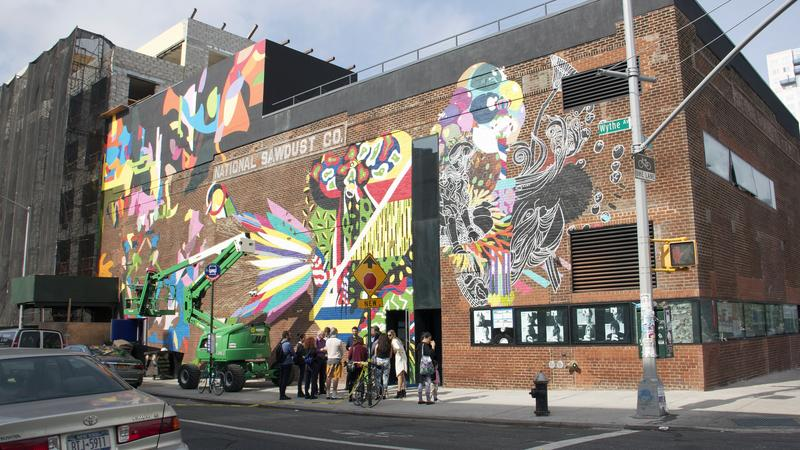 National Sawdust, a new chamber hall in Williamsburg, is built in the shell of a former sawdust factory.