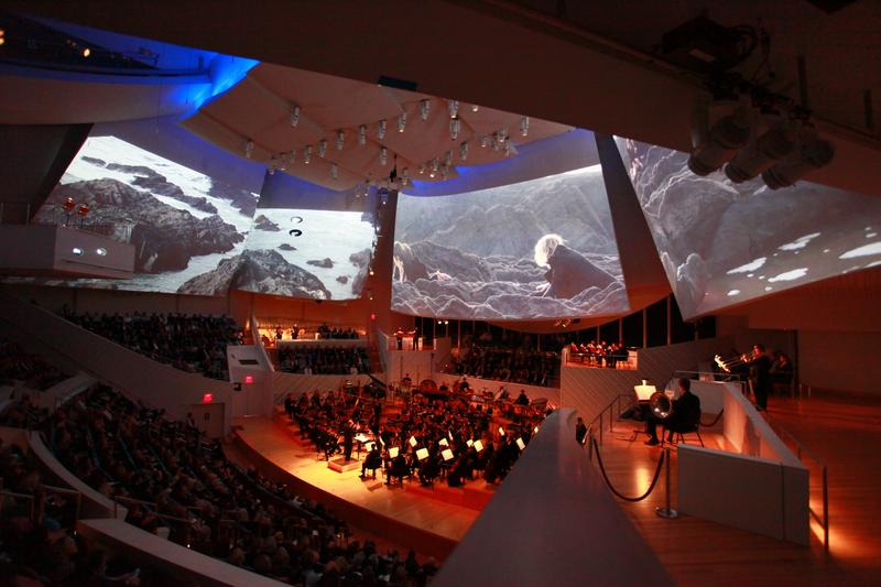 "New World Symphony's world premiere of Thomas Adès's ""Polaris"" at New World Center"