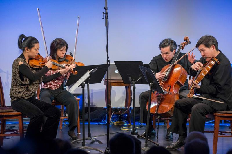 "Ying Quartet at ""From China to America"" at New York HIstorical Society on Jan. 10, 2014"