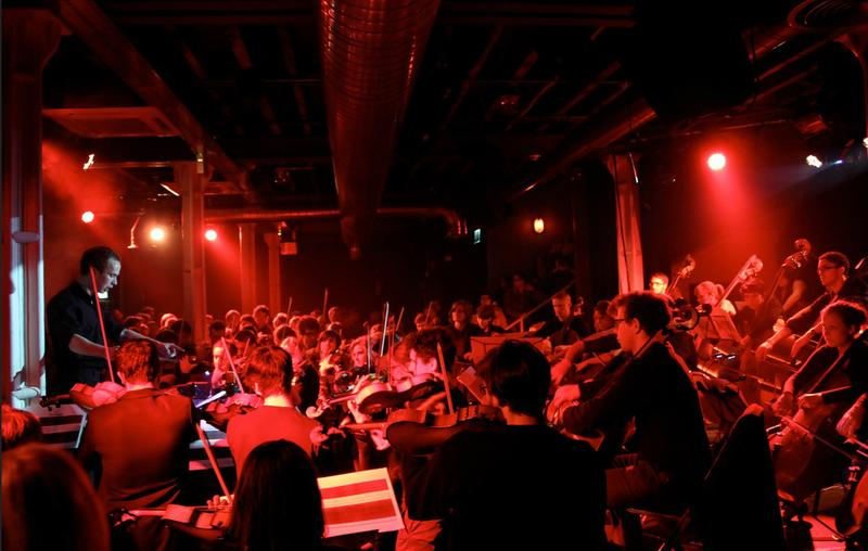 A Nonclassical event featuring the Wordless Music Orchestra