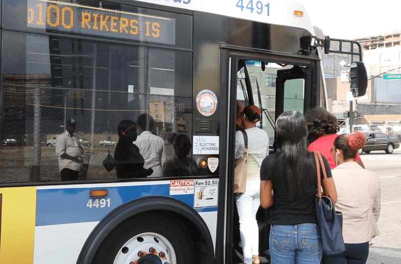 Shadow of Jail Violence Darkens Bus Ride to Rikers | WNYC