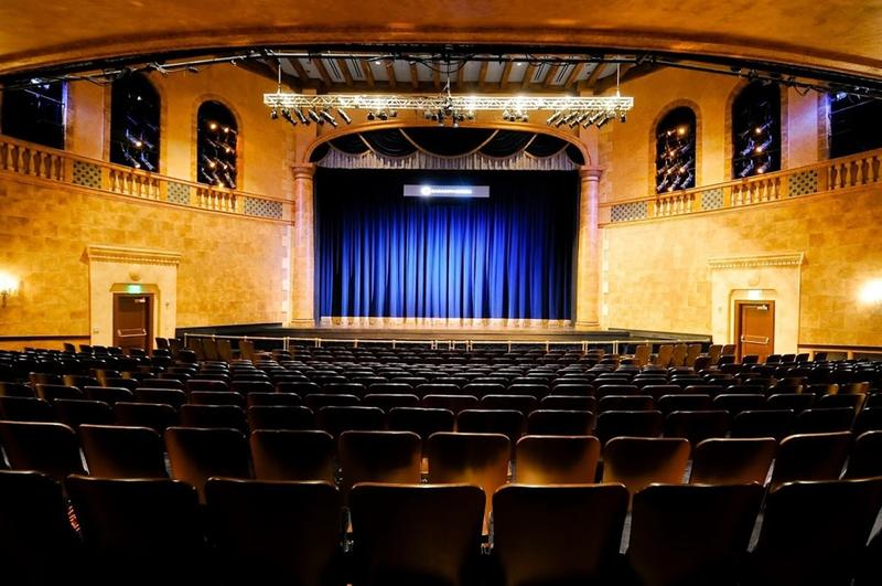 The Sarasota Music Festival takes place in the Sarasorta Opera House.