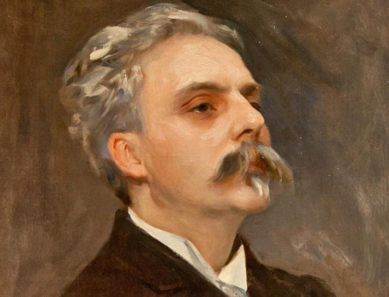 Gabriel Fauré by John Singer Sargent