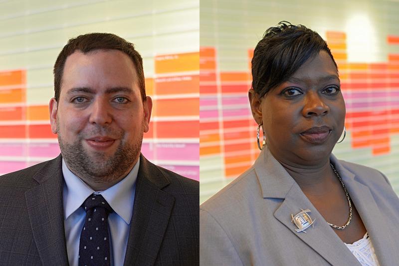Robert Siano and Darcel Clark