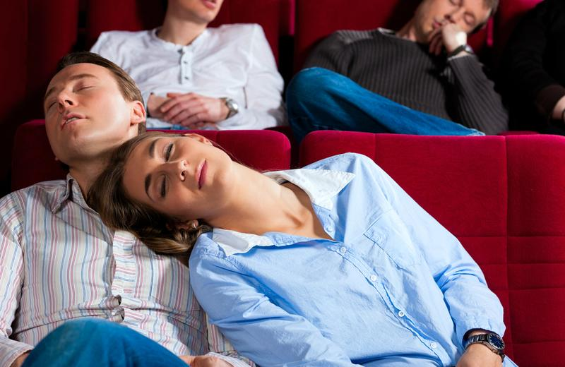 Falling asleep can happen to even the most ardent opera-lovers