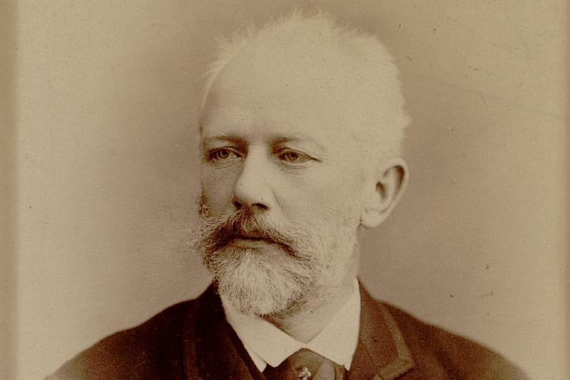 Photograph of Tchaikovsky.