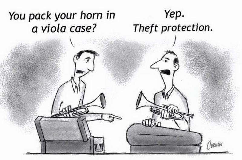 Violas, the butt of jokes for longer than you might think.