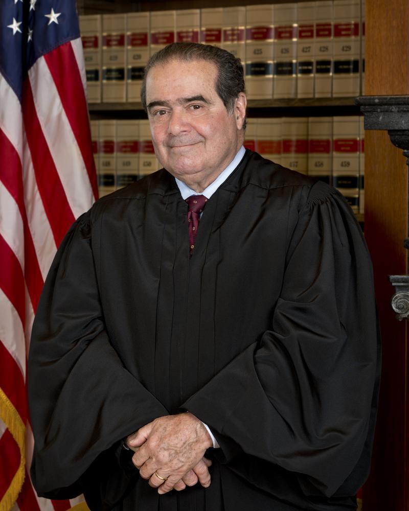 Antonin Scalia, Official SCOTUS Portrait