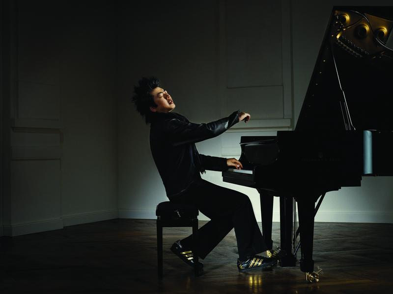 Lang Lang collaborated with Adidas in 2008 to design an $85 black-and-gold shoe.