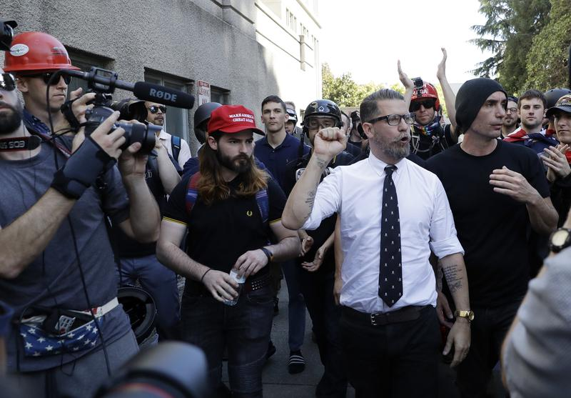 gavin mcinnes and the proud boys misogyny authoritarianism and