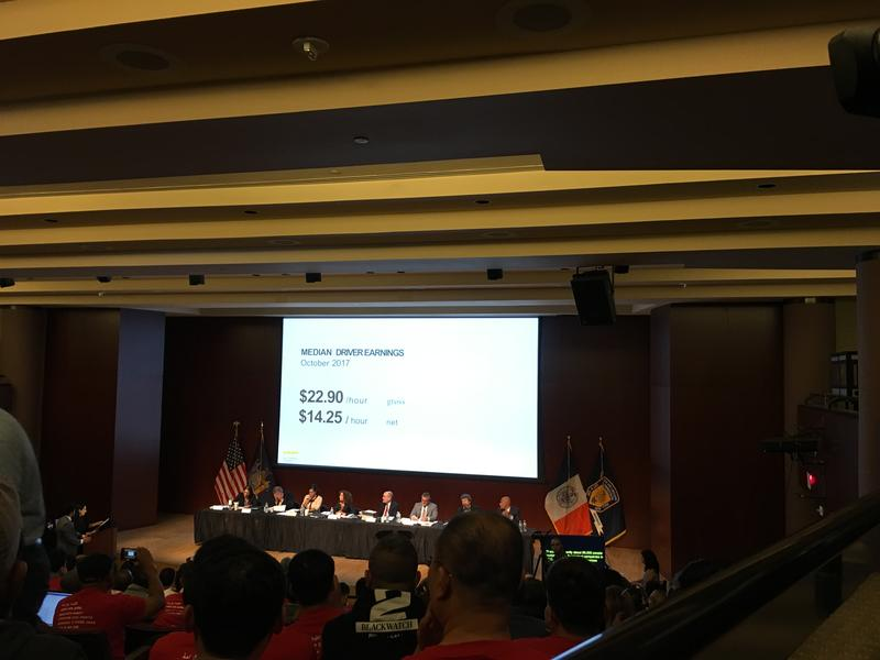 City's Plan to Raise Wages for Uber and Lyft Drivers Met
