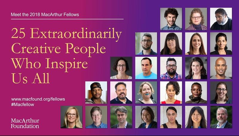 Image result for MacArthur Fellows 2018