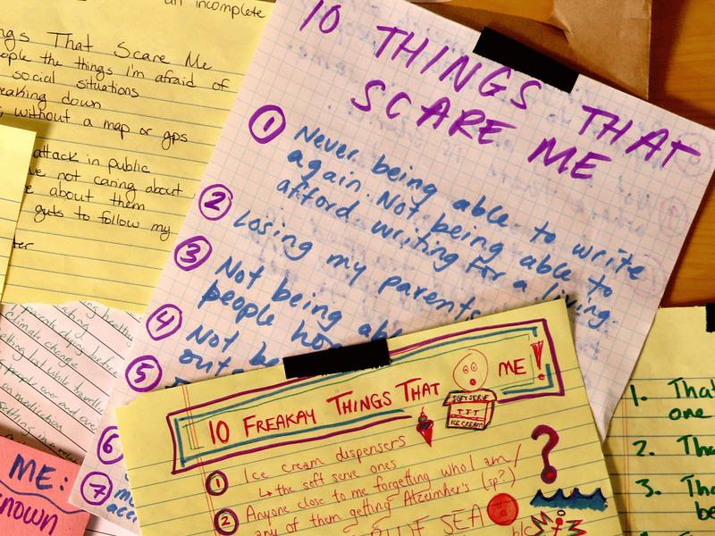 introducing 10 things that scare me 10 things that scare me