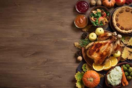 the history of thanksgiving food from the first venison to your