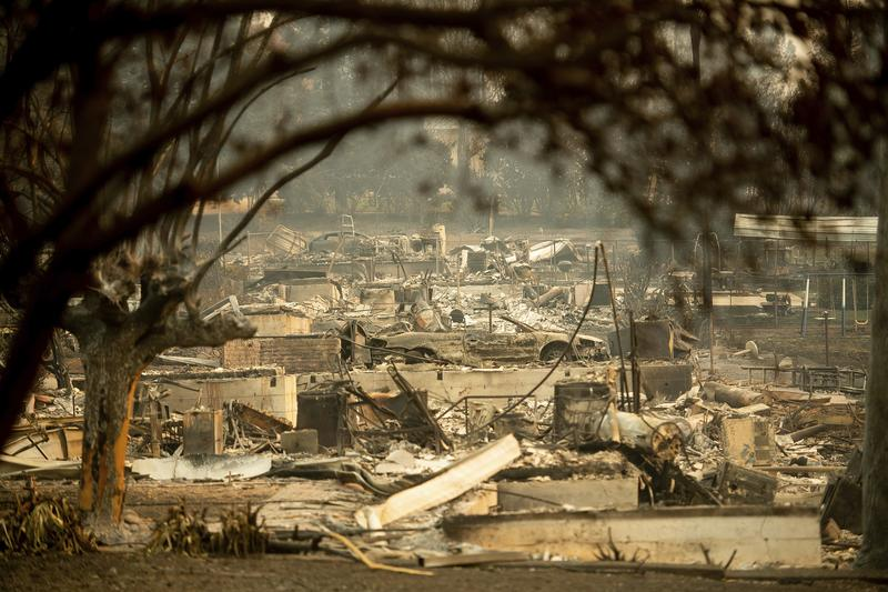 more wildfire less insurance many californians struggle for