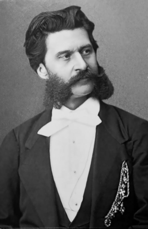 Composer Johann Strauss II