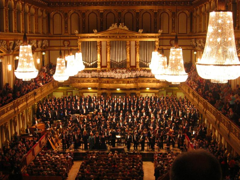The Musikverein interior in April 2009