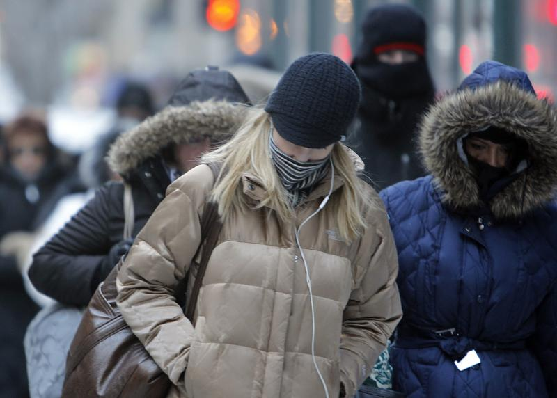Polar Vortex Has Midwest Temperatures Plunging to Near Record Lows