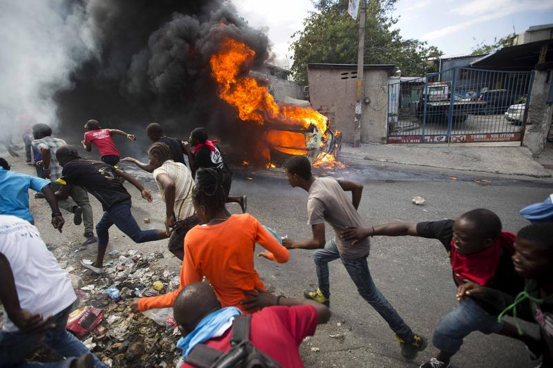 Uncertainty in Haiti Following Violent Protests Over Corruption