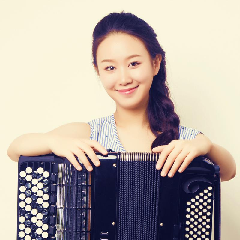 Accordionist Hanzhi Wang