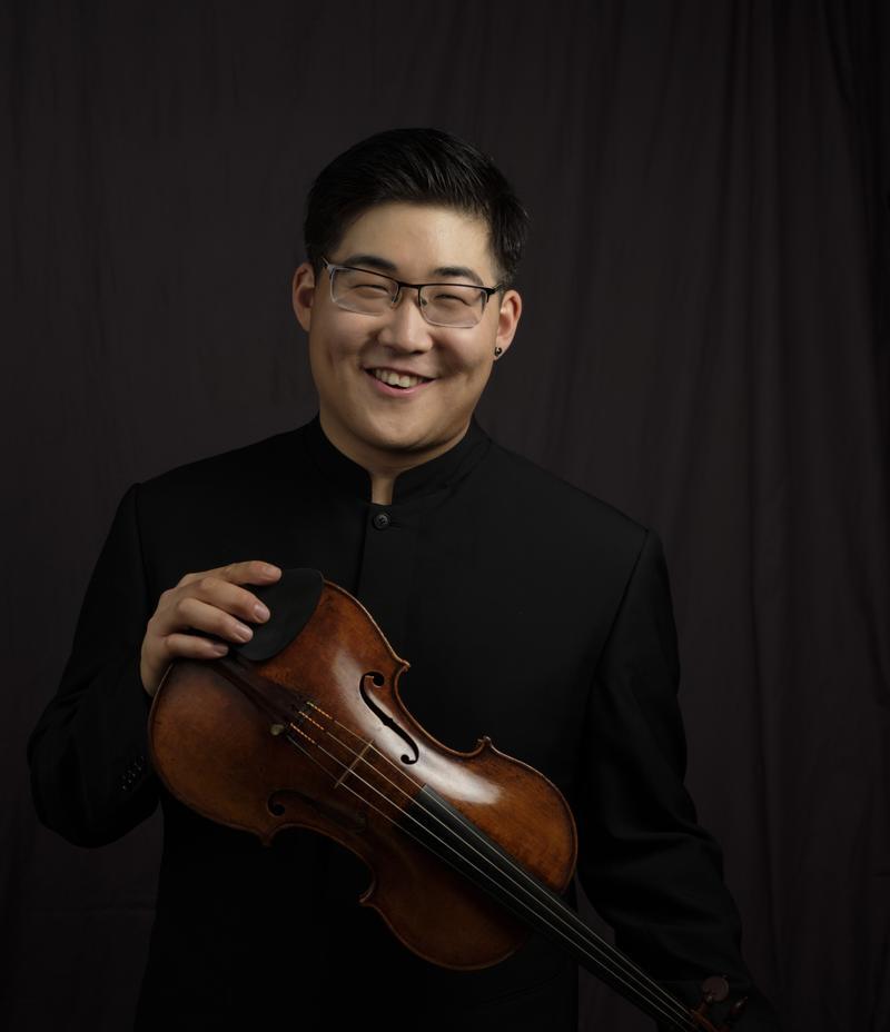 Violinist Brian Hong