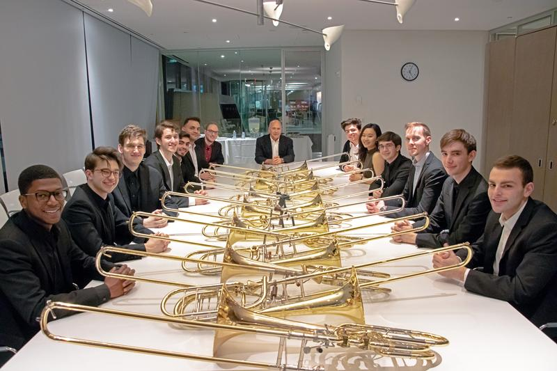 Juilliard's Trombone Choir