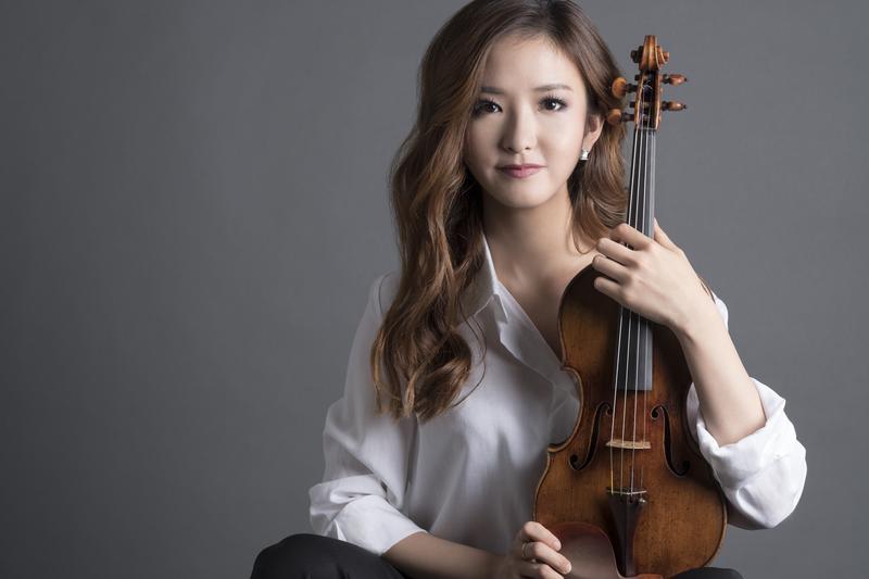 Violinist YooJin Jang