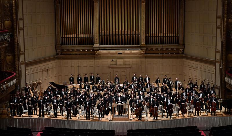The Boston Philharmonic Youth Orchestra led by Benjamin Zander