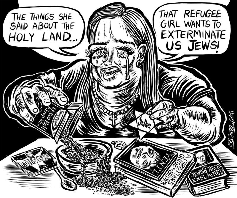A Grotesque Look At Antisemitism Through Comics On The Media