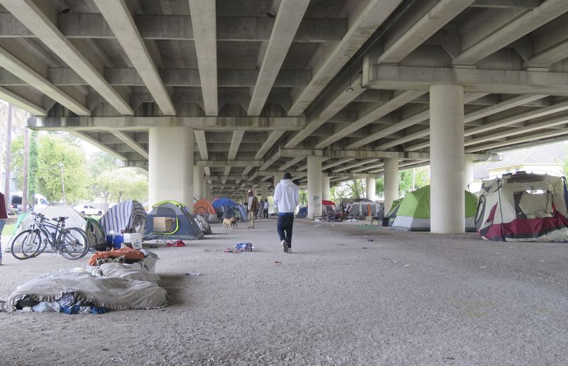 """In Texas, Homelessness Crisis Highlights """"Housing First"""" Approach"""
