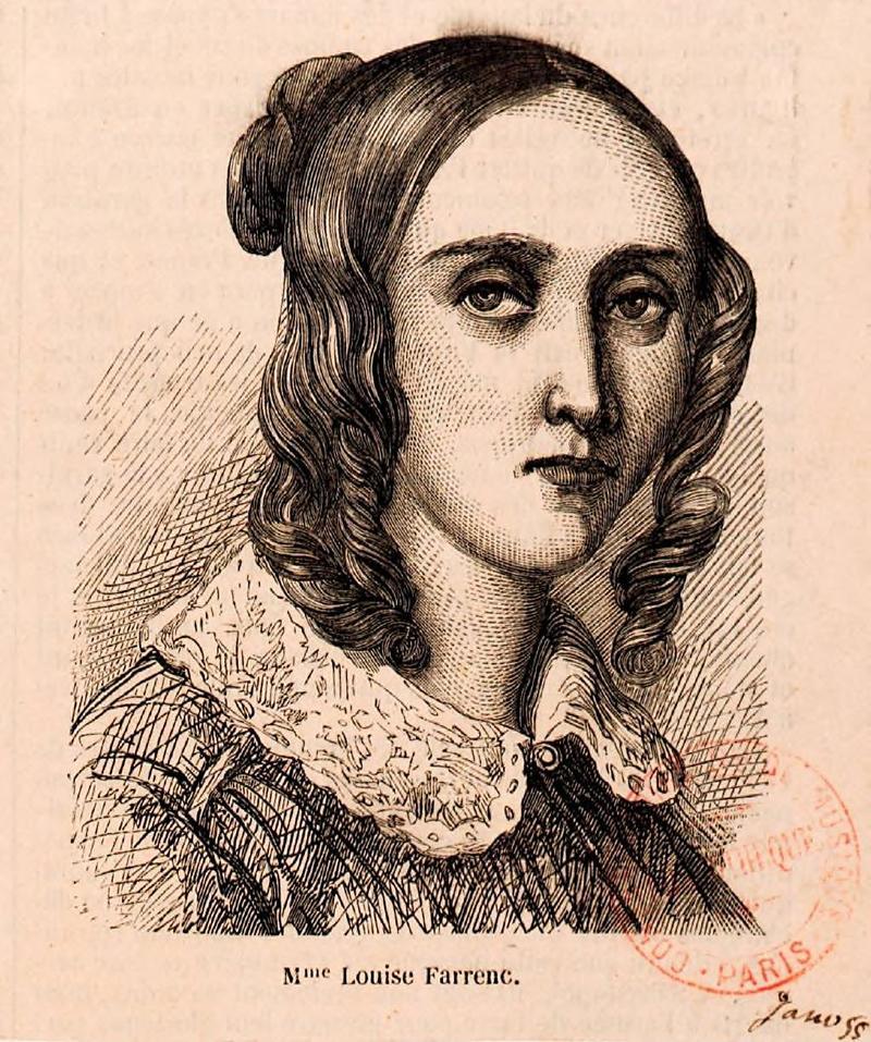 Louise Farrenc (née Jeanne-Louise Dumont), c. 1855