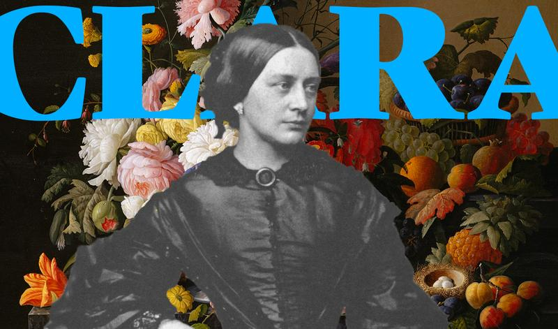 Composer and pianist Clara Schumann