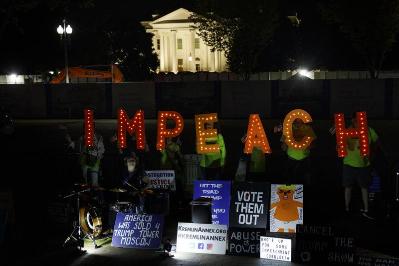 Impeachment and Public Protest | The Brian Lehrer Show | WNYC