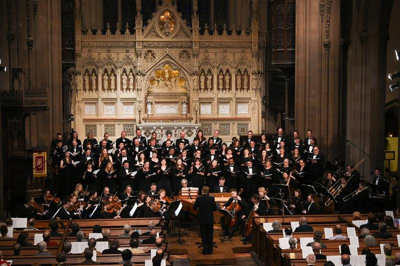 Downtown Voices first performed at Trinity Church on December 27, 2015, as part of Trinity's annual Twelfth Night Festival.