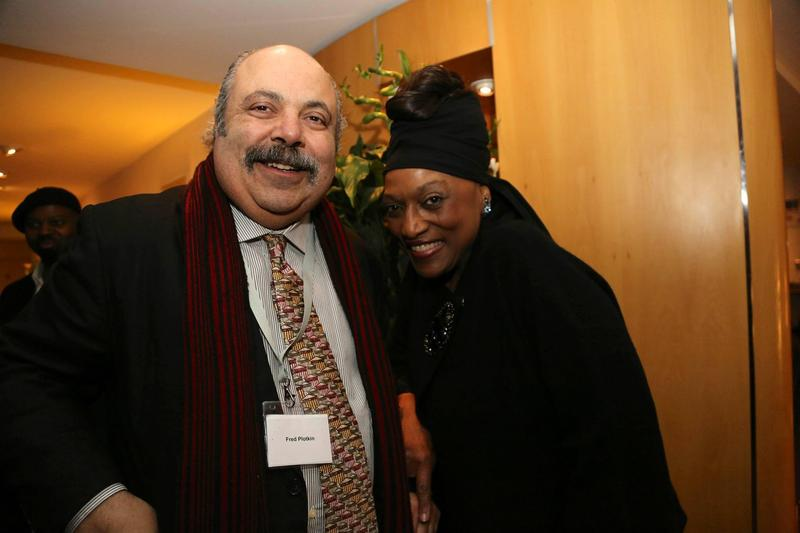 Fred Plotkin and Jessye Norman at the University of Oxford, March 27, 2015.