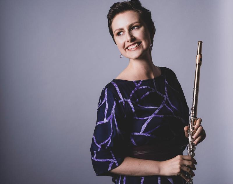 Flutist Catherine Gregory