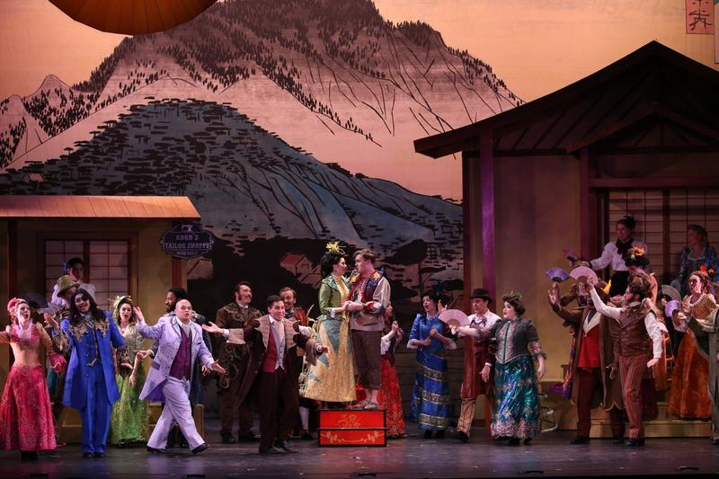 New York Gilbert and Sullivan Players' production of the Mikado