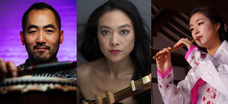 from l to r: Kaoru Watanabe, Jen Shyu, gamin