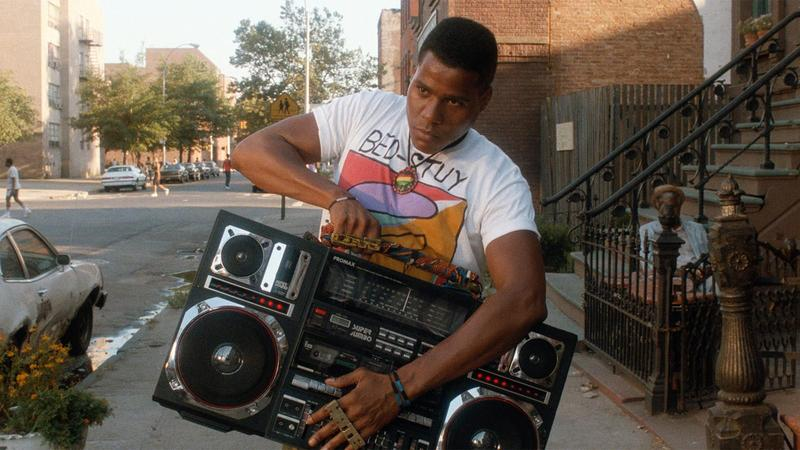 Radio Raheem in Spike Lee's Do The Right Thing