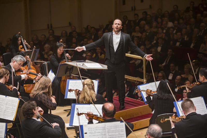 Conductor Yannick Nézet-Séguin and the Philadelphia Orchestra at Carnegie Hall in 2019
