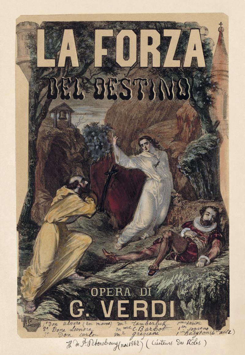 Verdi - La Forza Del Destino Poster
