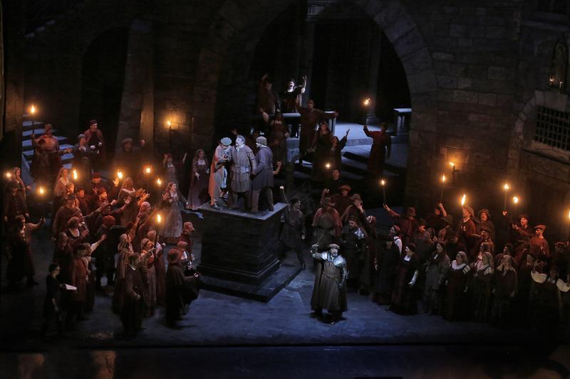 A scene from Verdi's Simon Boccanegra.