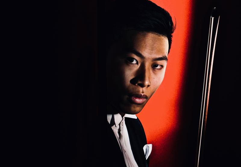 Violinist Kerson Leong