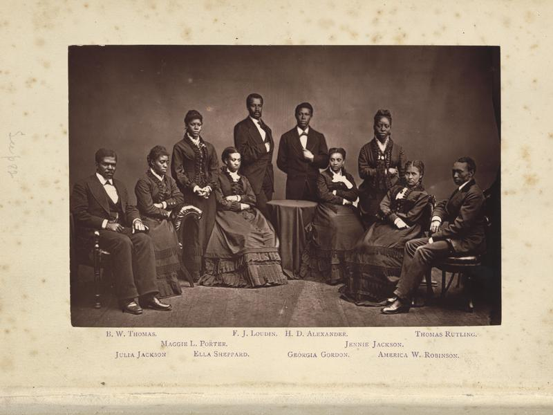 The Story of the Fisk Jubilee Singers, 1875